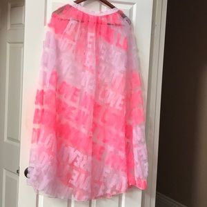 Limited ed. Victoria's Secret tulle runway skirt
